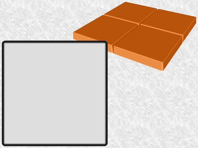 Square Contractor-grade Stepping Stone—Design view